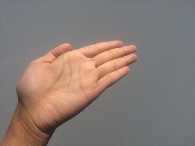 霊感チェック 左手 小指