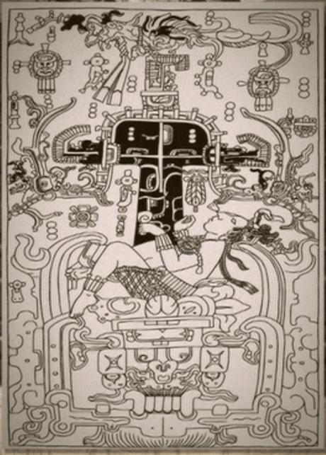 パカル王 石棺