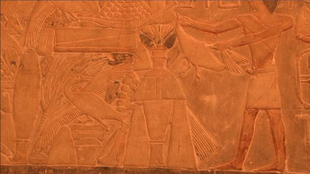 サッカラ遺跡 壁画