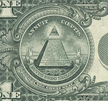 1ドル札 プロビデンスの目