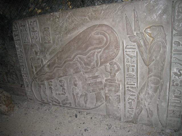 エジプトの電球