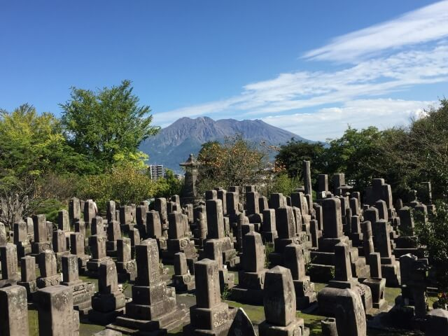 学校が建っている所は昔墓地だった お墓
