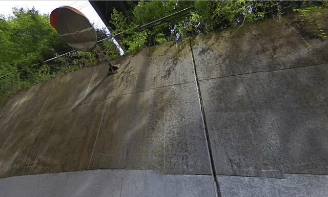 清滝トンネル 逆さミラー