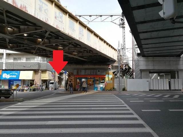 八剱神社 鴫野駅 改札