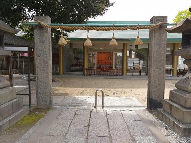 八剱神社 拝殿