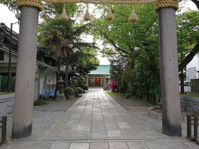 八剱神社 参道