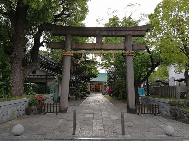 八剱神社 鳥居