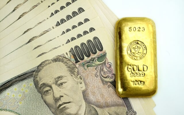 お金 ゴールド