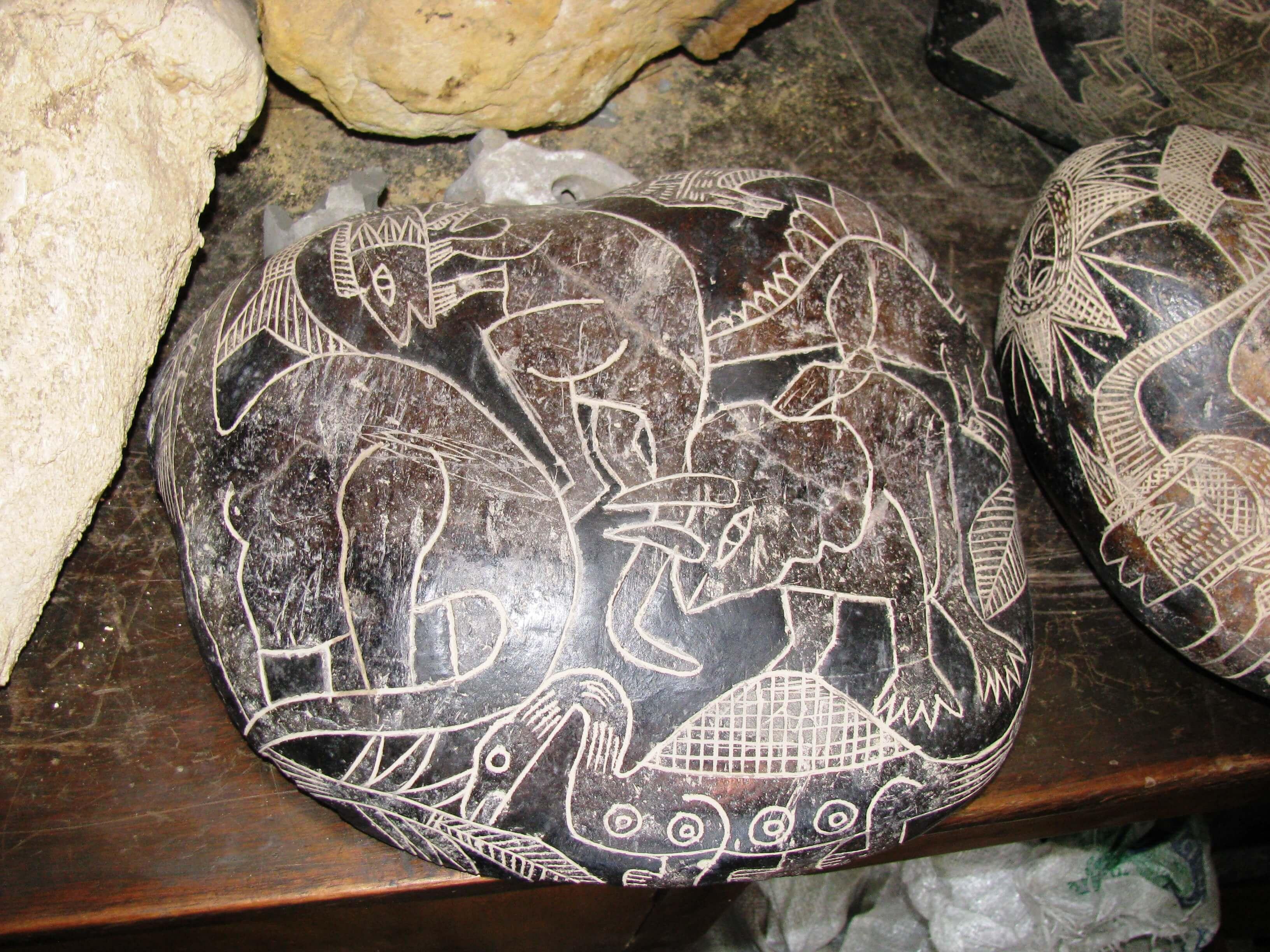 恐竜オーパーツ カブレラストーン
