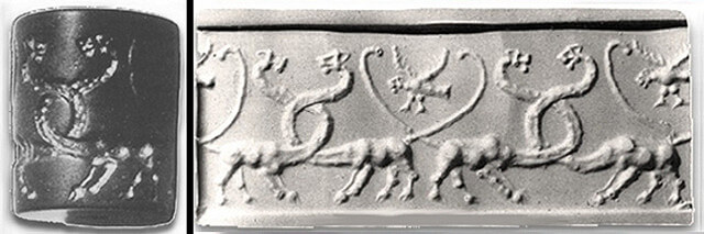 恐竜オーパーツ ナルメル メソポタミア