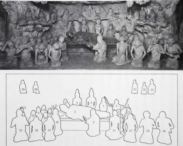 法隆寺 塑像