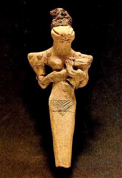 法隆寺 爬虫類人の像