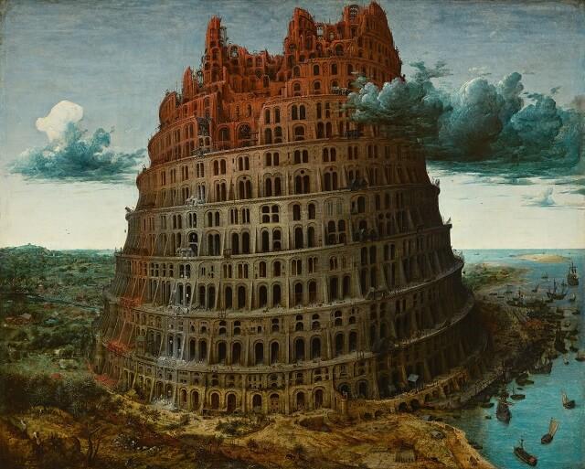 クリスマス 悪魔 バベルの塔