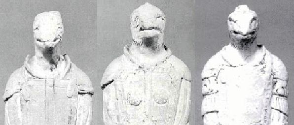 法隆寺 侍者像