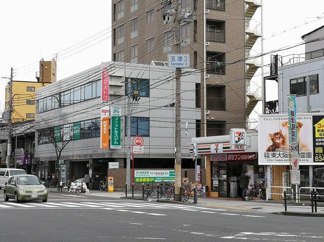 JR鶴橋駅 玉津3交差点
