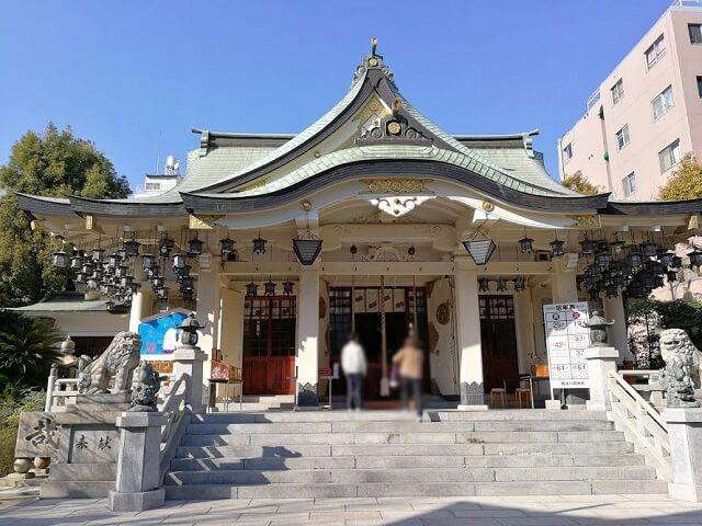 難波八阪神社 本殿
