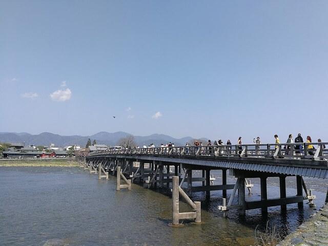 野宮神社 渡月橋