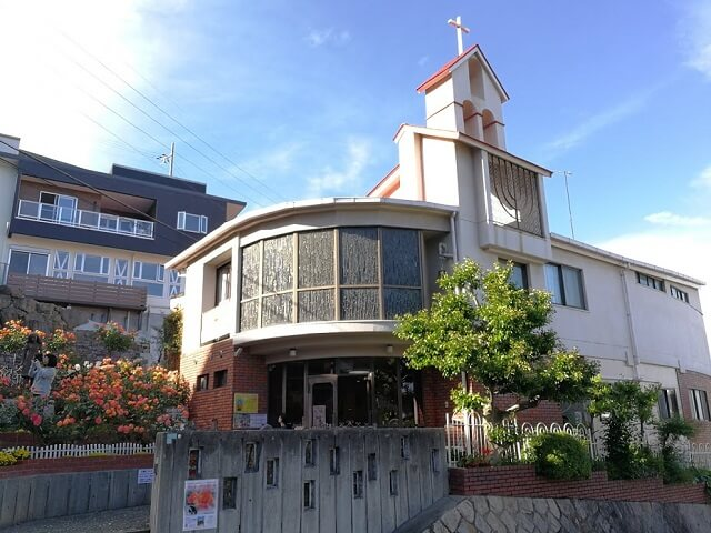 アンネのバラの教会 外観