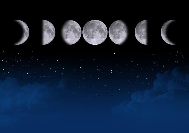 ボイドタイム 月の満ち欠け
