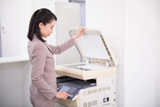 サイン色紙 保存 コピー機