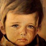 「泣く少年」の絵 飾ると火事になる怪奇現象でイギリスを震撼させた呪いの絵画