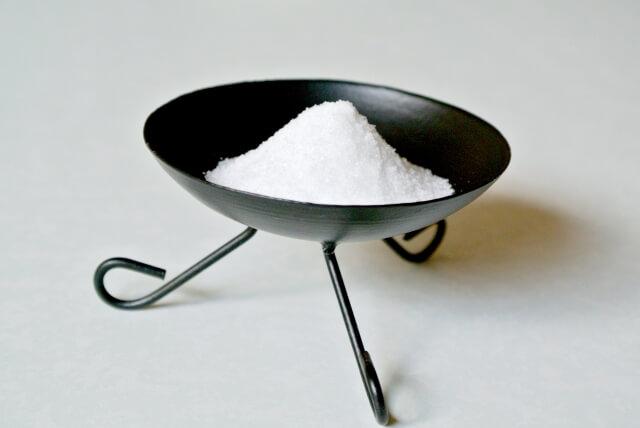 盛り塩 処分