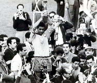 1962年ワールドカップ カメラ付き携帯