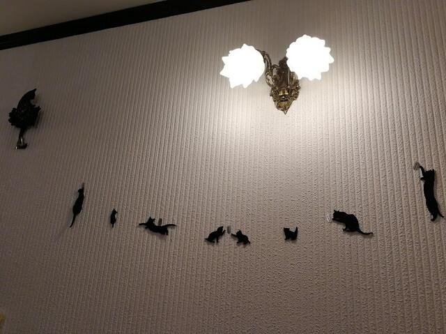 神戸中華街 占いカフェ 黒ねこさん 室内