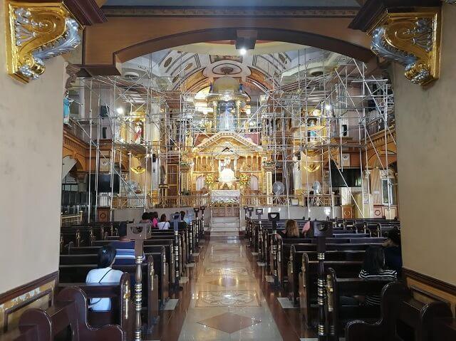 シマラ教会 セブ島 パワースポット 礼拝堂