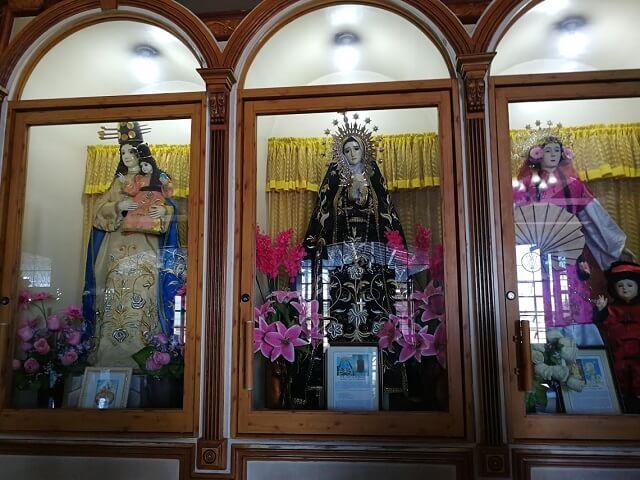 シマラ教会 セブ島 パワースポット 像