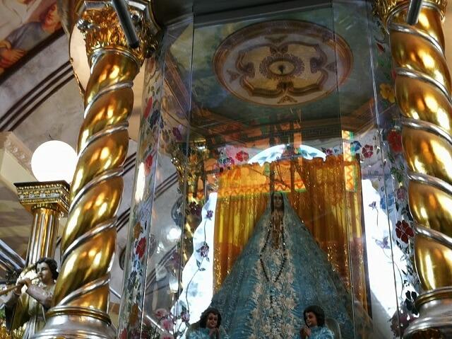 シマラ教会 セブ島 パワースポット マリア像