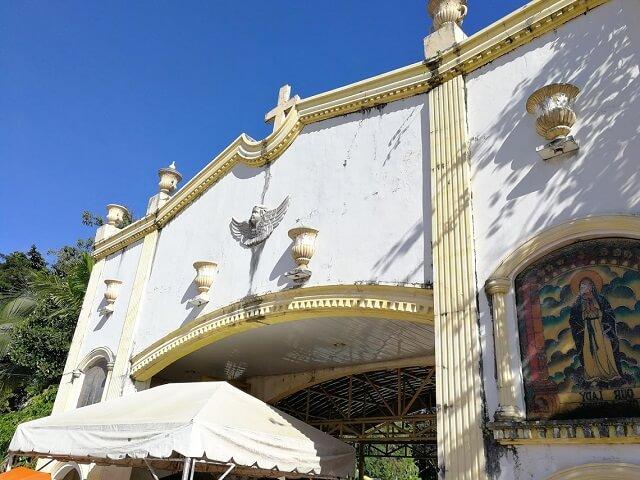 シマラ教会 セブ島 パワースポット 門