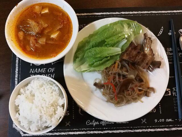 フィリピン 留学 授業内容 シェアハウスの食事