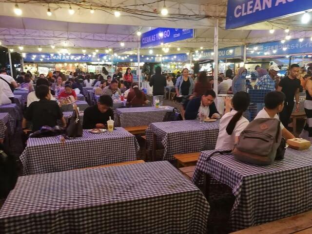 セブ島 ITパーク ナイトマーケット